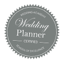 Badge de la Wedding Academy